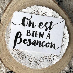 on est bien à Besançon
