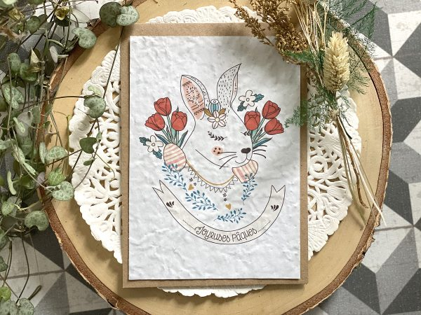 Carte Joyeuses Pâques