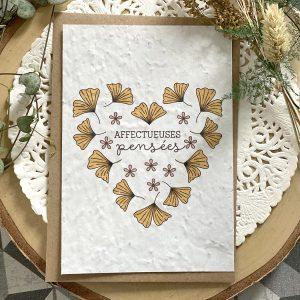 cartes condoléances
